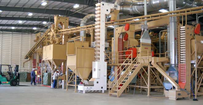 Central California Almond Association utilizes the latest in shelling technology